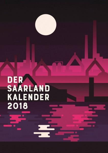 Saarland Design Kalender 2018 mit Sehenswürdigkeiten