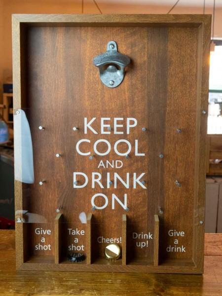Trinkspiel Keep Cool Flaschenöffner
