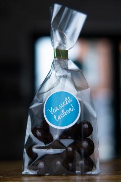 1 Tüte Kaffeebohnen mit Zartbitter Schokolade - 35 Stück