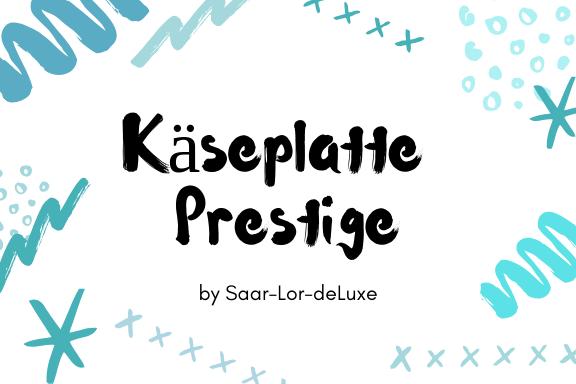 """Käseplatte """"Prestige"""""""