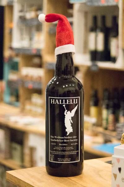 Saarbrücker Weihnachtsbier Hallelu