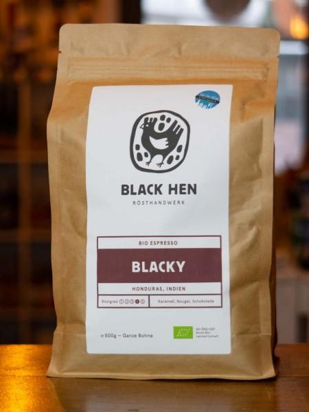 BIO Espresso Blacky (Bohnen)