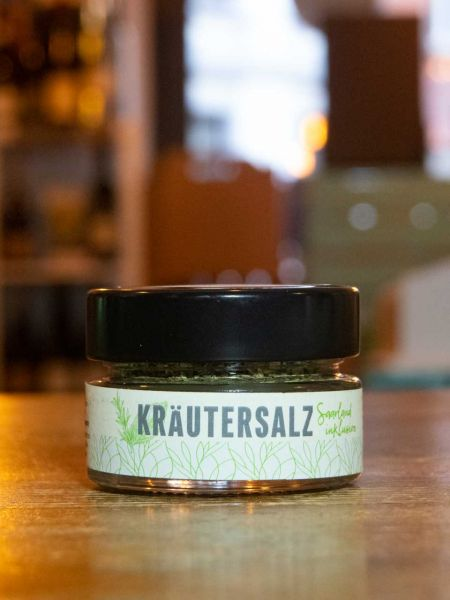 Regionales Kräutersalz