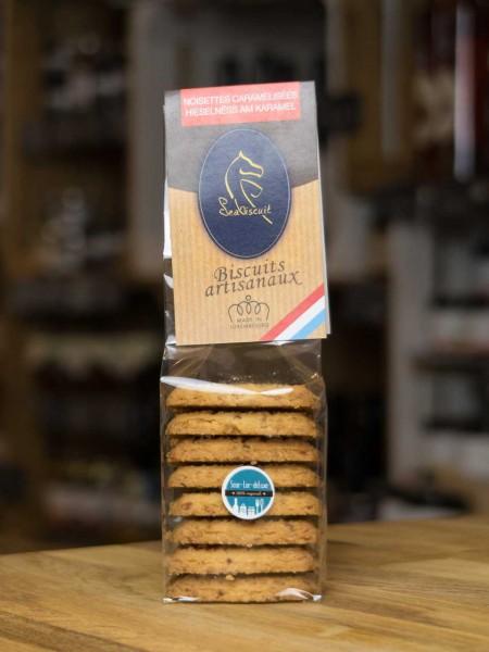 Biscuit Kekse mit karamellisierten Haselnüssen