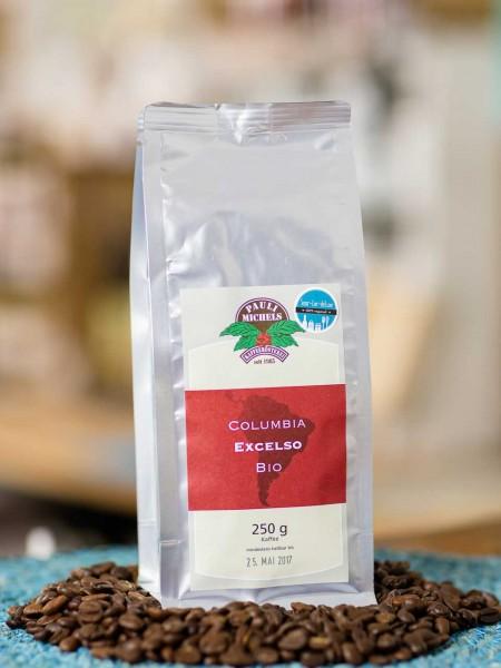 BIO Kaffee Columbia Arabica Excelso (Bohnen)
