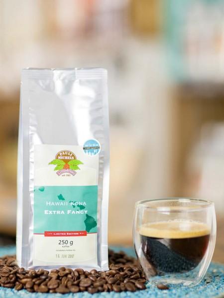 Hawaii Kona Extra Fancy Kaffee Bohnen Pauli Michels