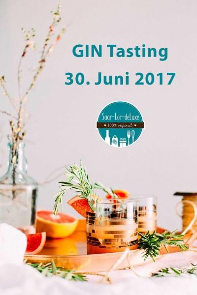 Gin Tasting bei Saar-Lor-deLuxe