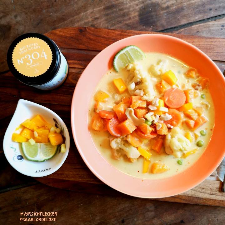 Gemüse Curry deLuxe