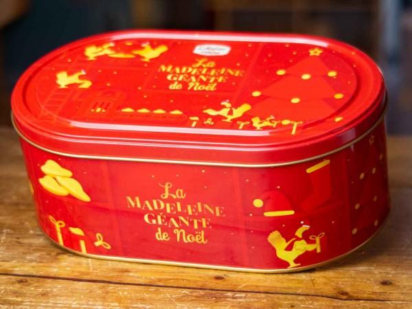 Madeleine géante - Riesen-Madeleine in Blechdose