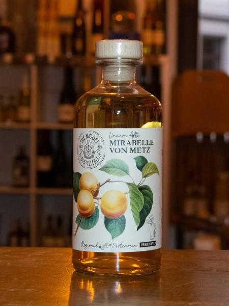 Alte Mirabelle von Metz Spirituose sortenrein
