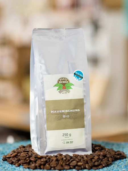 BIO Kaffee Bohnen Hausmischung Pauli Michels