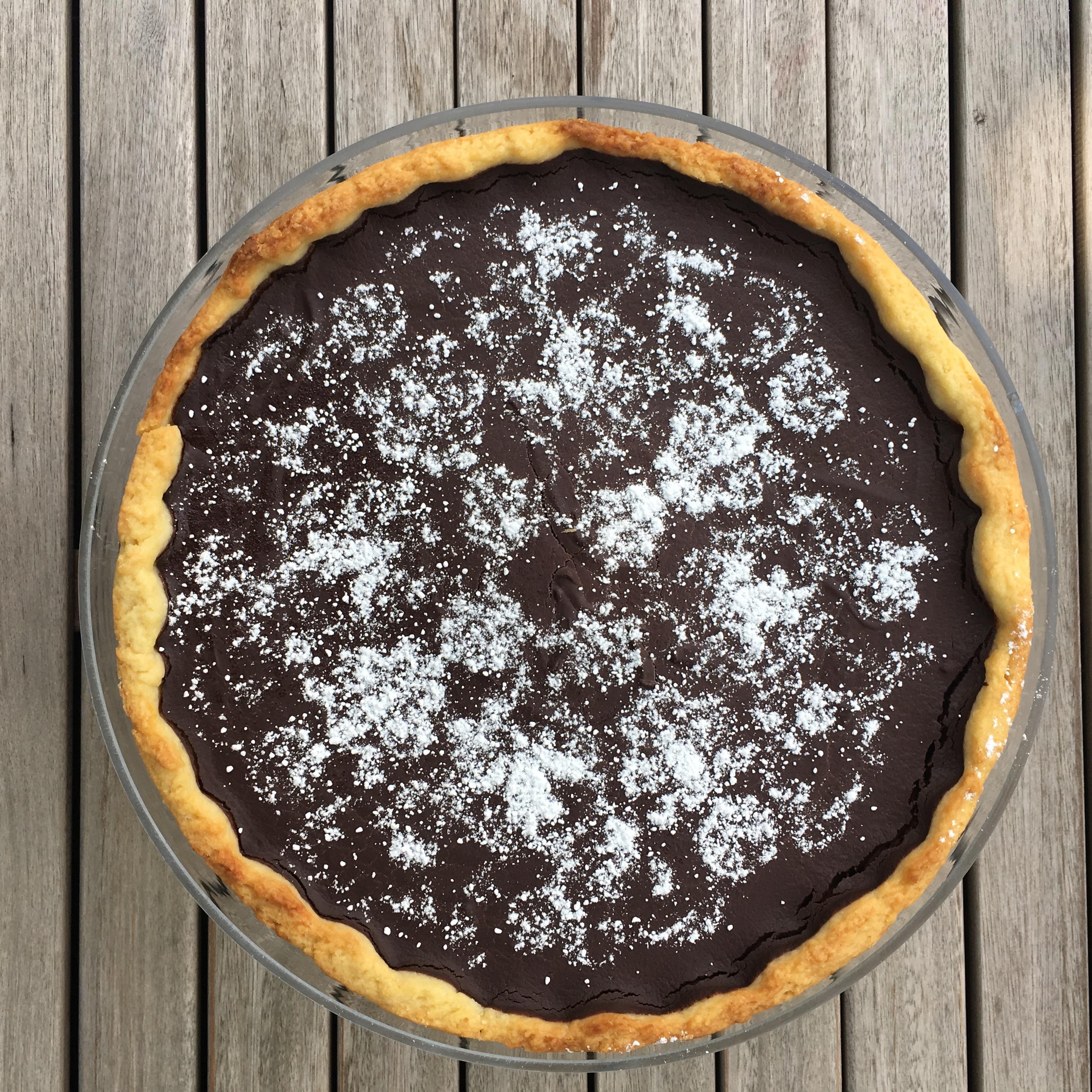 Tarte au chocolat - nur für echte Schokoliebhaber!
