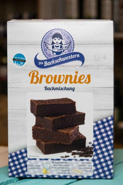 Brownies Backmischung - Backschwestern