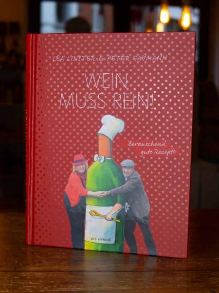Lea Linster Kochbuch - Wein muss rein