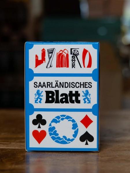 Saarländisches Blatt Kartenspiel