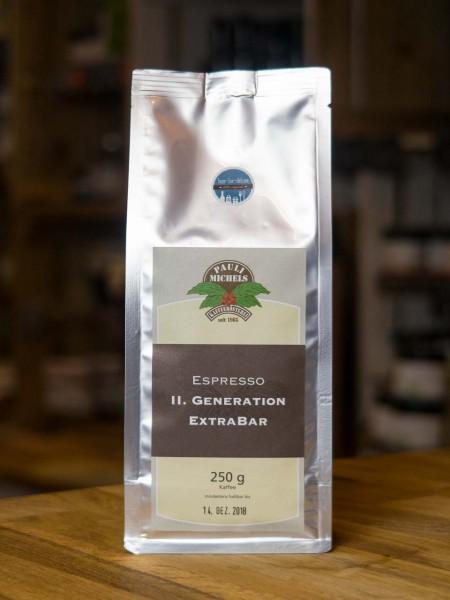 Espresso II. Generation ExtraBar (Kaffee Bohnen)