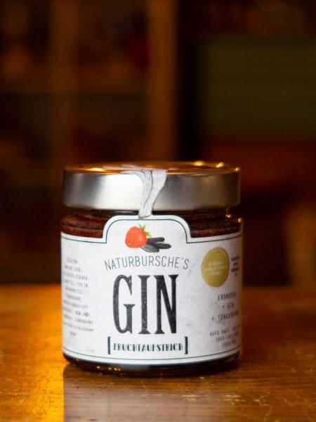 Gin Aufstrich mit Erdbeere und Tonkabohne