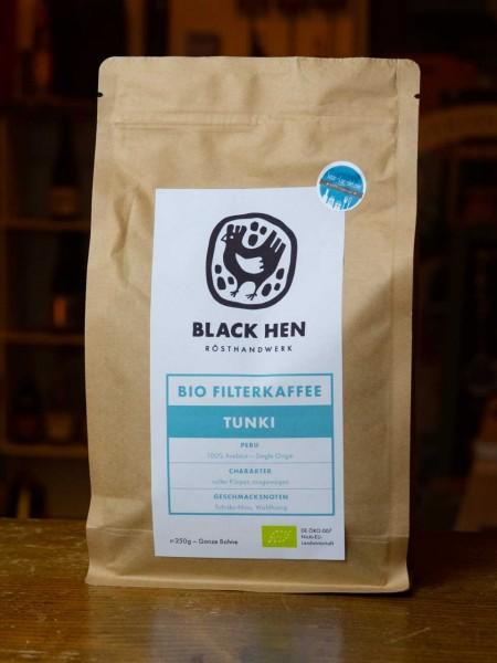 BIO Tunki Filterkaffee (Bohnen)