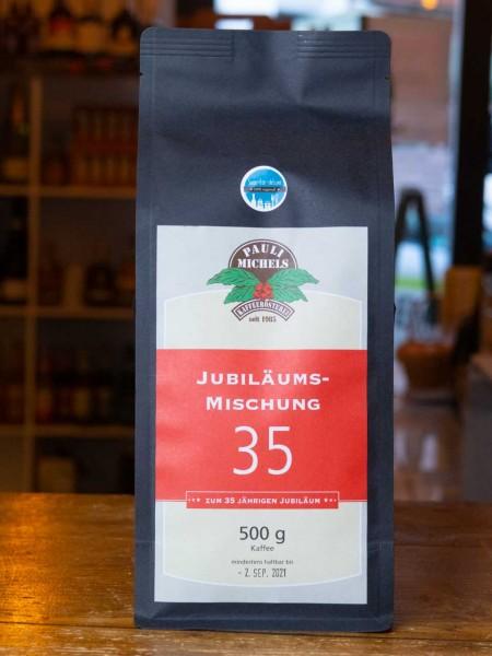 35 Jahre Jubiläums-Mischung Kaffee Bohnen