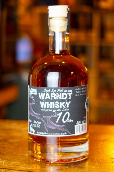 Warndt Whisky 10 Jahre - Single Rye Malt