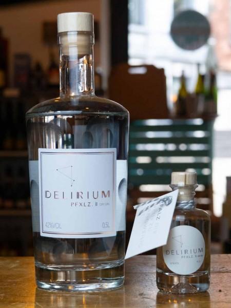 Delirium Pfalz Dry Gin im Dubbeglas