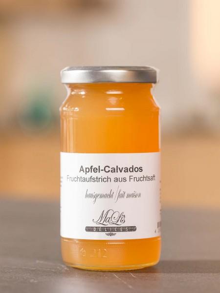 Apfel mit Calvados Gelée
