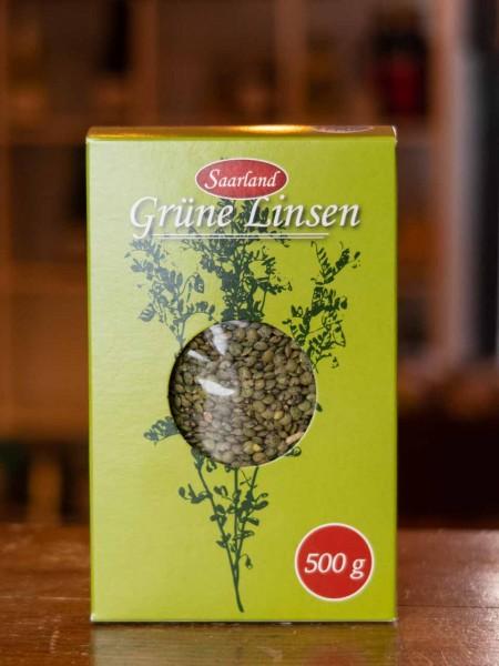Grüne Linsen aus dem Bliesgau