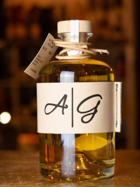 Agnes Green Gin Barrique Edition - fassgelagert