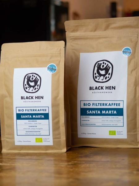 BIO Santa Marta Filterkaffee (Bohnen)