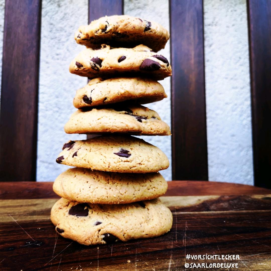 Muscovado Cookies mit Schokochips
