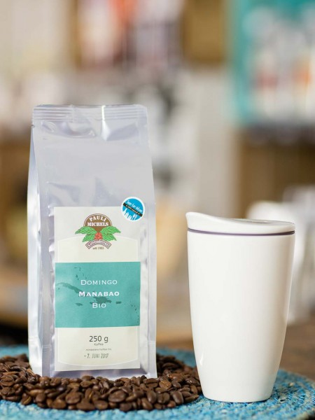 BIO Kaffee Bohnen Domingo Manabao Caribic Pauli Michels