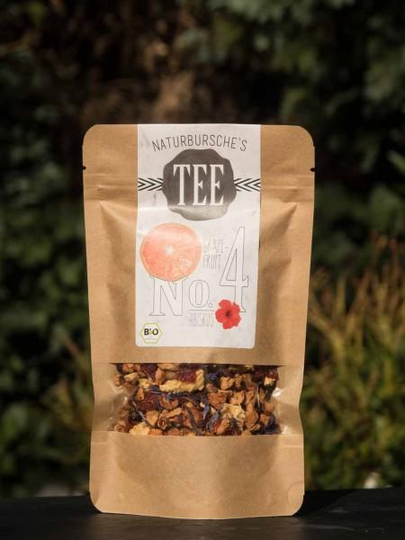 Grapefruit Hibiskus Energie Tee Naturbursche