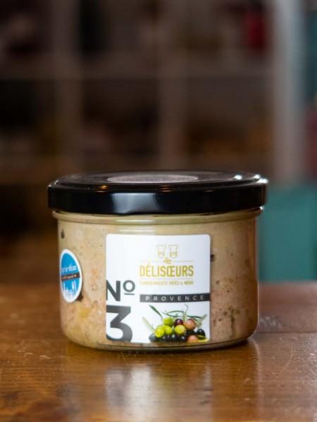 Pâté Provence - Leberpastete mit Oliven und Knoblauch