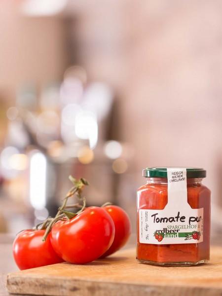 Tomate pur - Erdbeerland