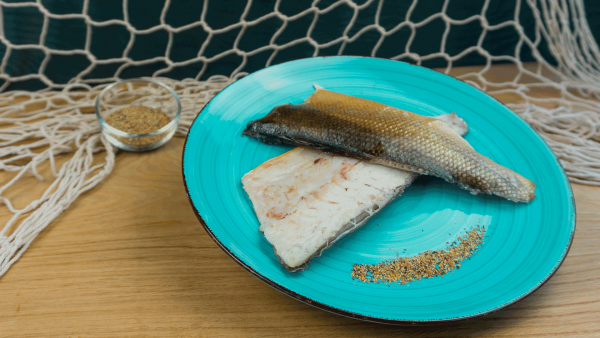 Geräucherte Wolfsbarsch Filets Loup de mer Fisch aus Saarbrücken