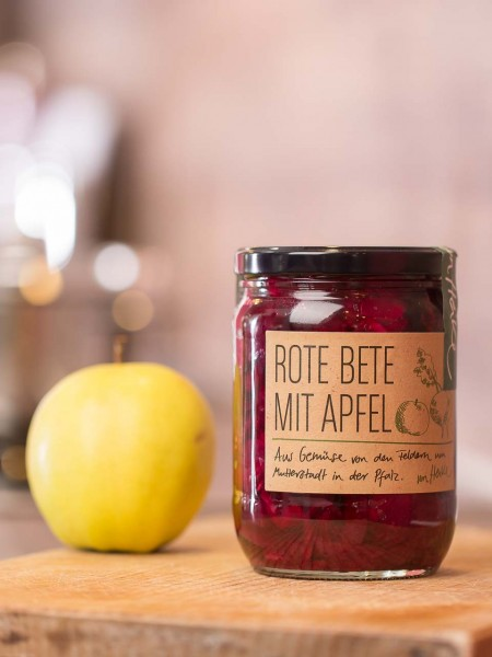 Rote Beete mit Apfel