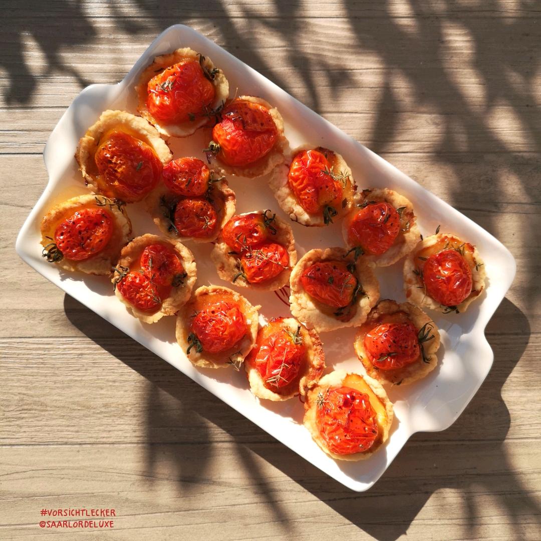 Karamellisierte Tomatentarte