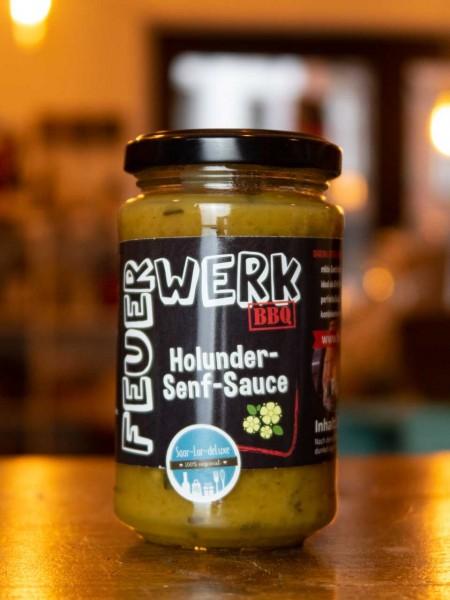 Holunder Senf Sauce