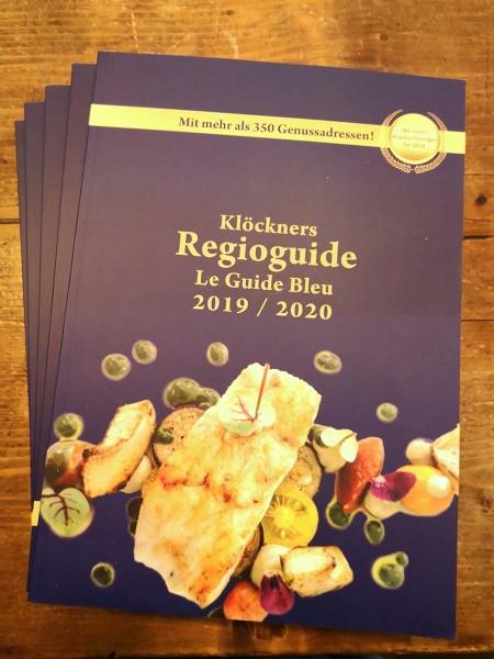 Klöckner's Regioguide 2019/2020 - Le Guide Bleu