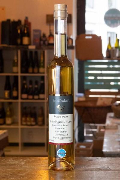 Marc vom Bliesgau Sauvignon Blanc - Biopshären-Brand