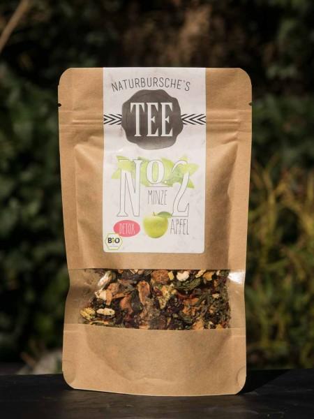BIO Minze-Apfel Detox Tee Naturbursche