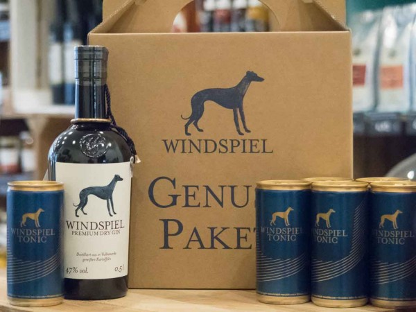 Windspiel Premium Dry Gin Genusspaket mit Tonic