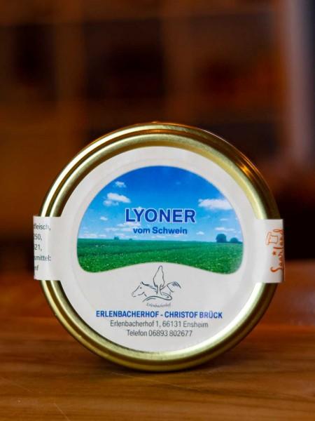 Saarländische Lyoner im Glas