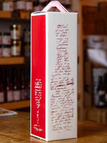 Flaschenkarton Motiv Wein
