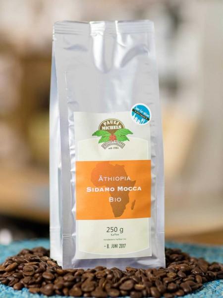 BIO Kaffee Abessinischer Mocca Äthiopia Sidamo Arabica (Bohnen)