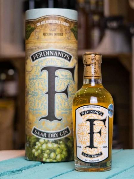 Ferdinand's Saar Quince Quitten Gin Fassprobe