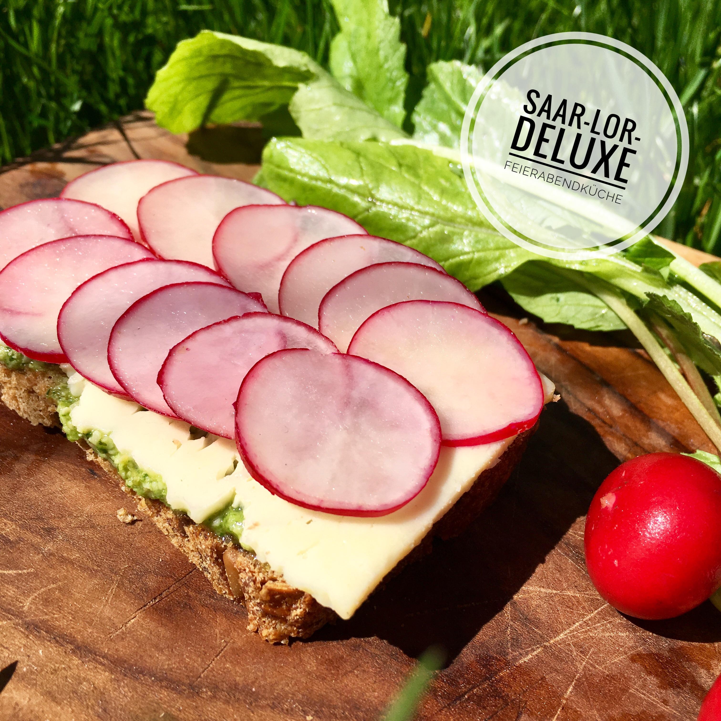 Radieschen-Brote