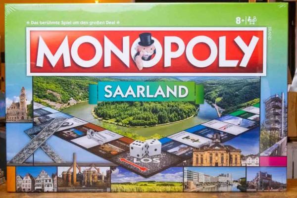 MONOPOLY Saarland Spiel